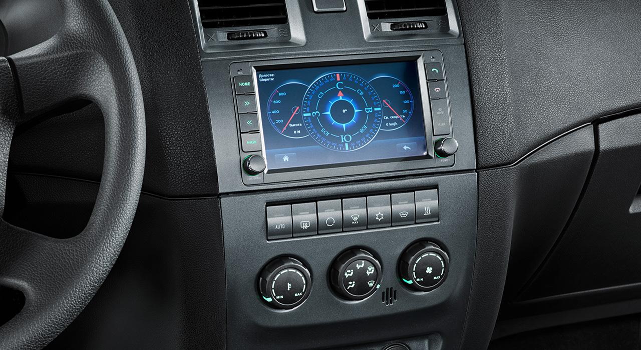 УАЗ Патриот - мультимедийная система