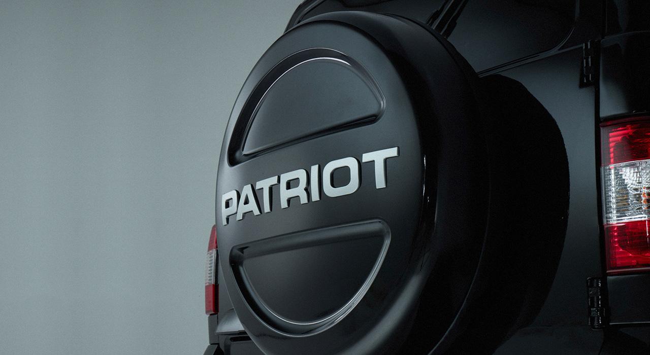 УАЗ Патриот - контейнер запасного колеса