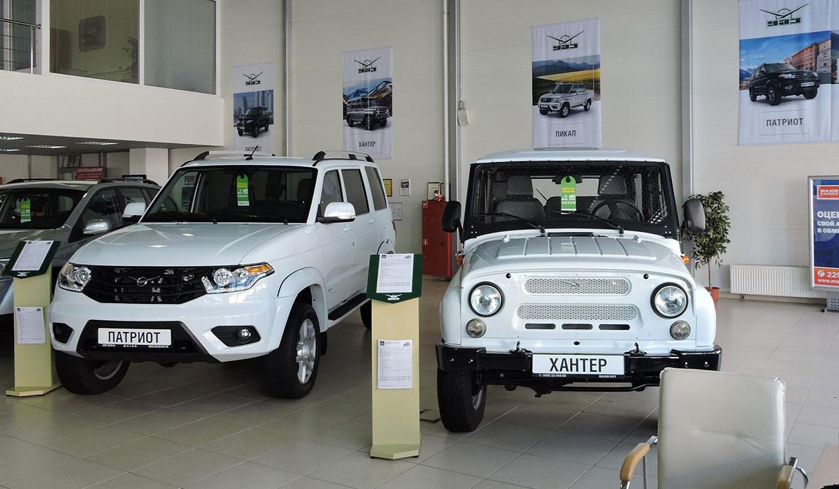 УАЗ начинает сотрудничество с Major Auto