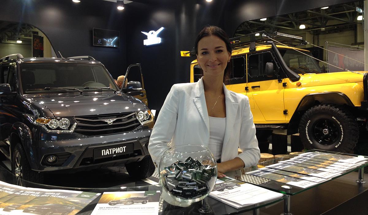 УАЗ принял участие в международной выставке внедорожников MOSCOW OFF-ROAD SHOW 2015