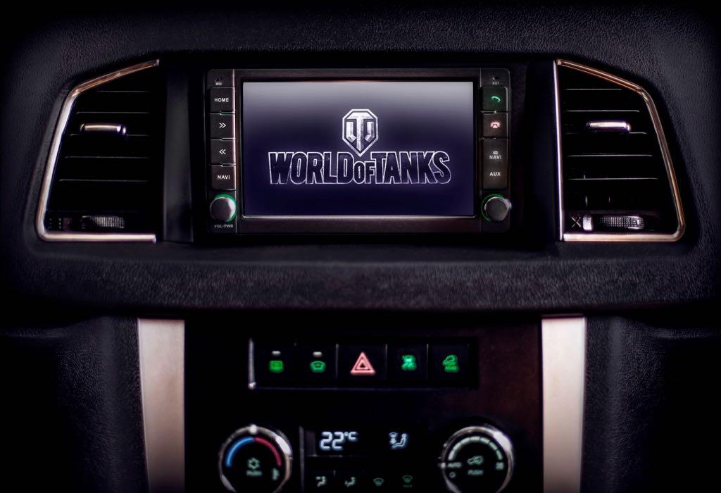 УАЗ и Wargaming представили специальную версию УАЗ Патриот WORLD OF TANKS EDITION