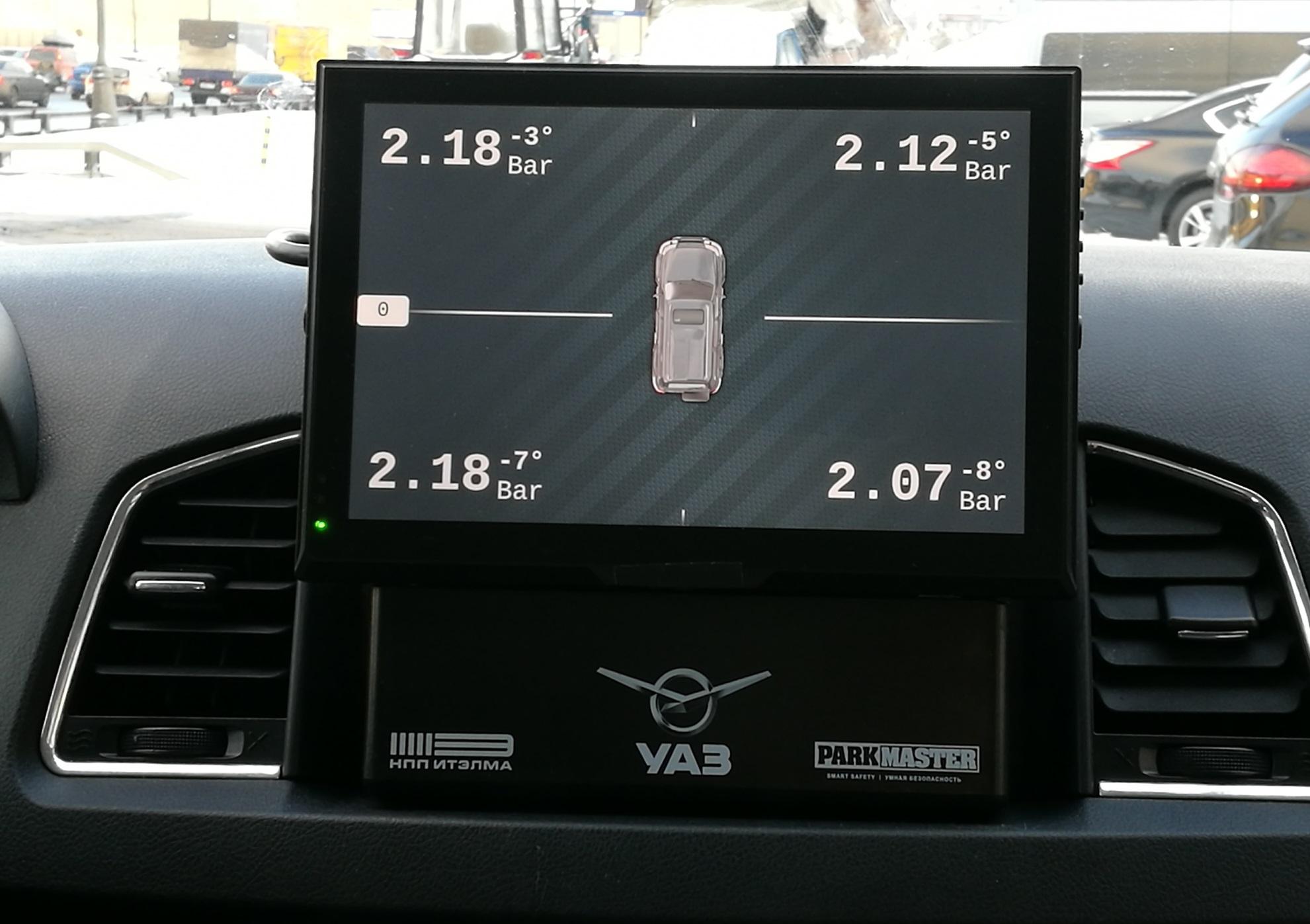 УАЗ представил тестовую версию УАЗ Патриот с телематическими сервисами