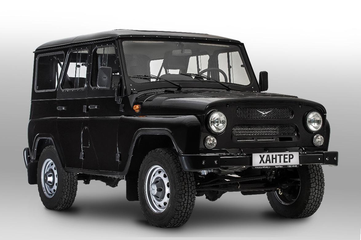 УАЗ возобновляет производство культового внедорожника Хантер