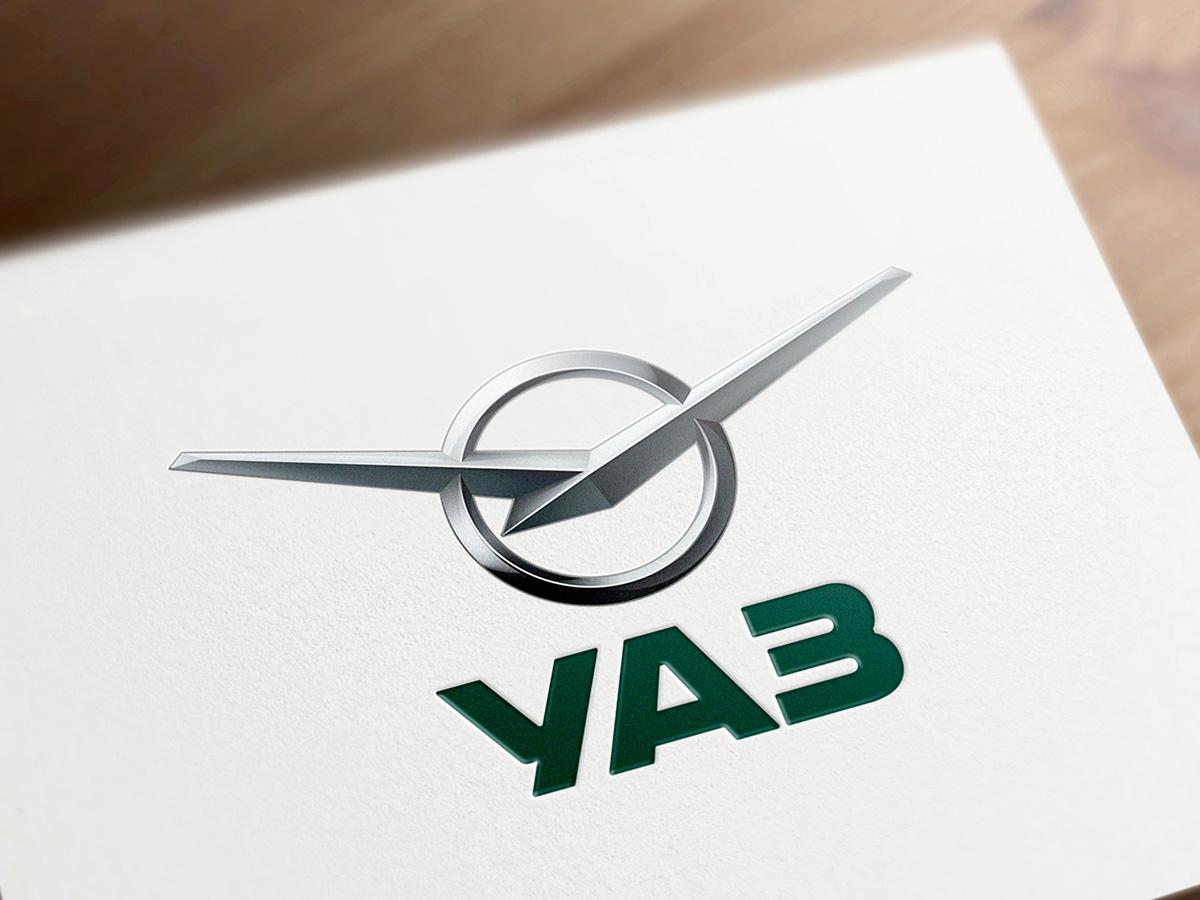УАЗ представляет новый логотип