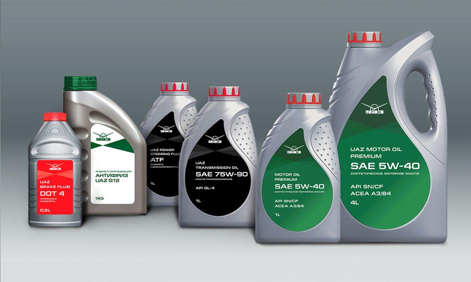 УАЗ запустил линейку оригинальных масел и эксплуатационных жидкостей