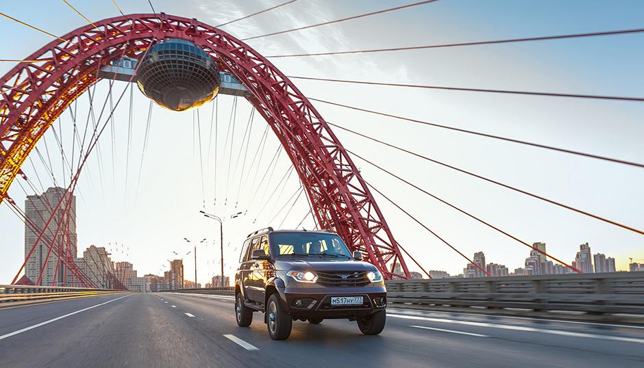 УАЗ Патриот стал лидером рейтинга лояльности среди популярных моделей