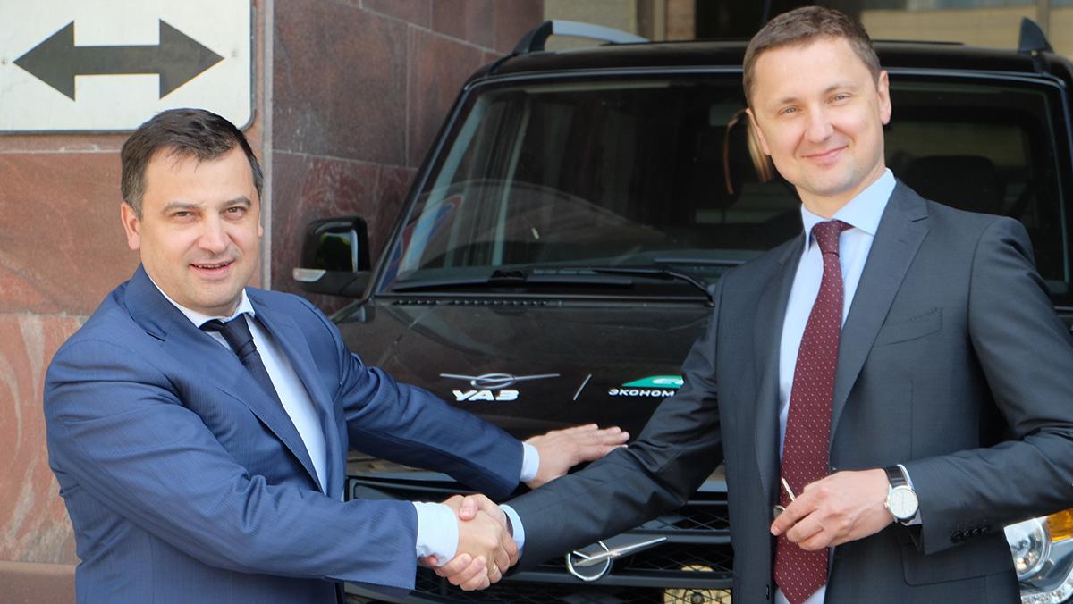Министерство Энергетики РФ завершило испытания тестового образца УАЗ Патриот CNG