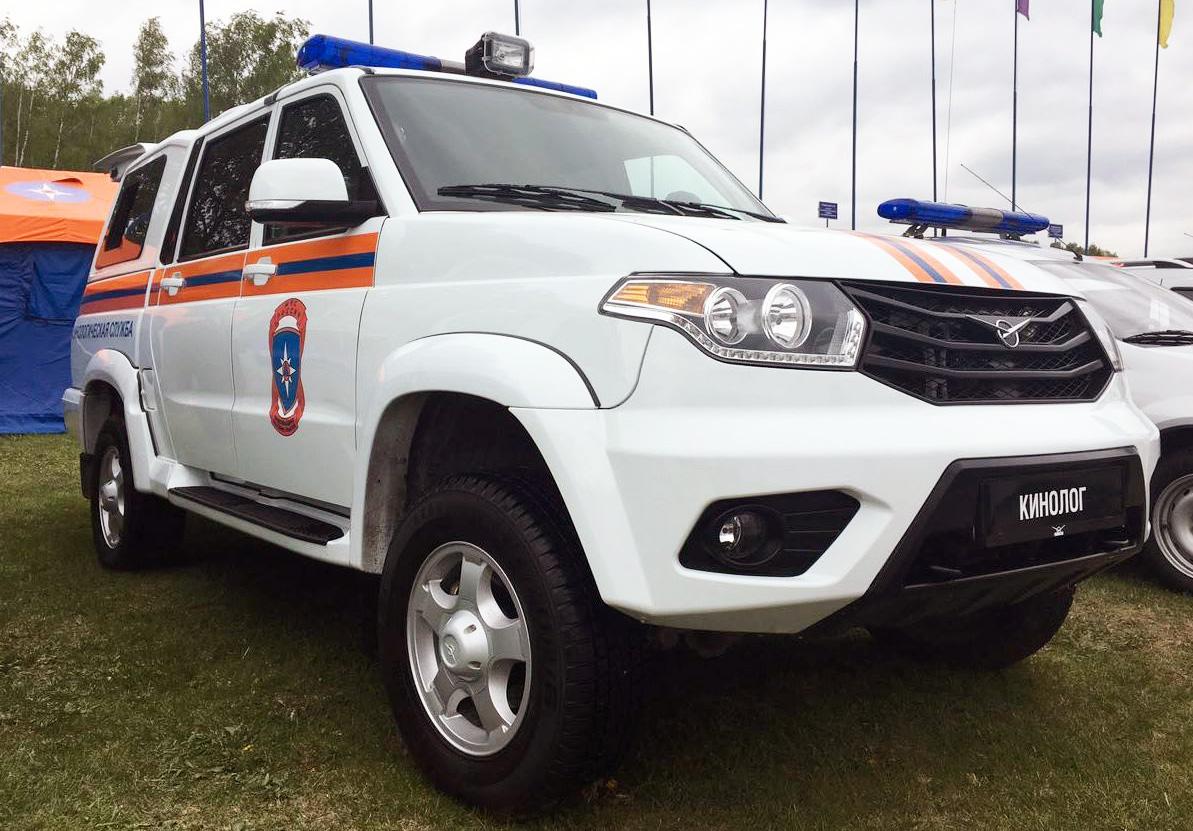 УАЗ запустил серийное производство спецавтомобиля для кинологических служб