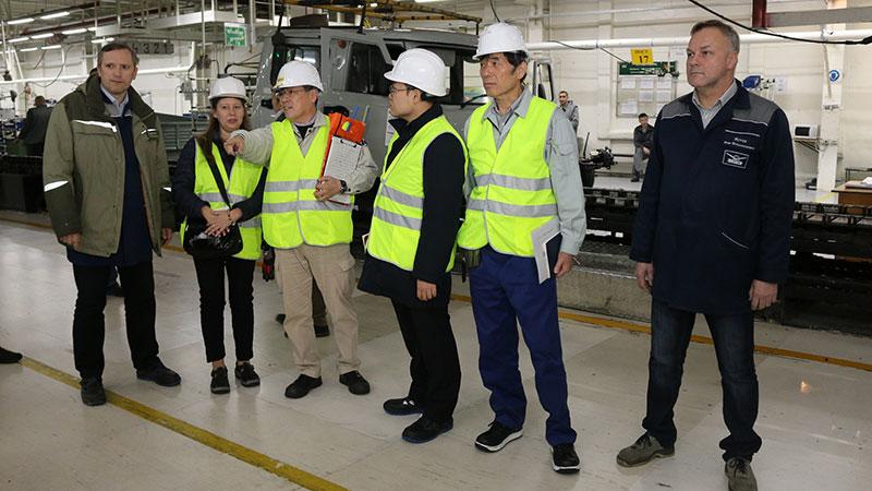 УАЗ внедряет японский опыт визуального менеджмента на производстве