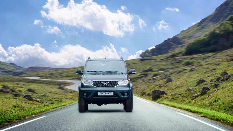 УАЗ «Патриот» в сентябре вошел в ТОП-10 самых популярных SUV в России