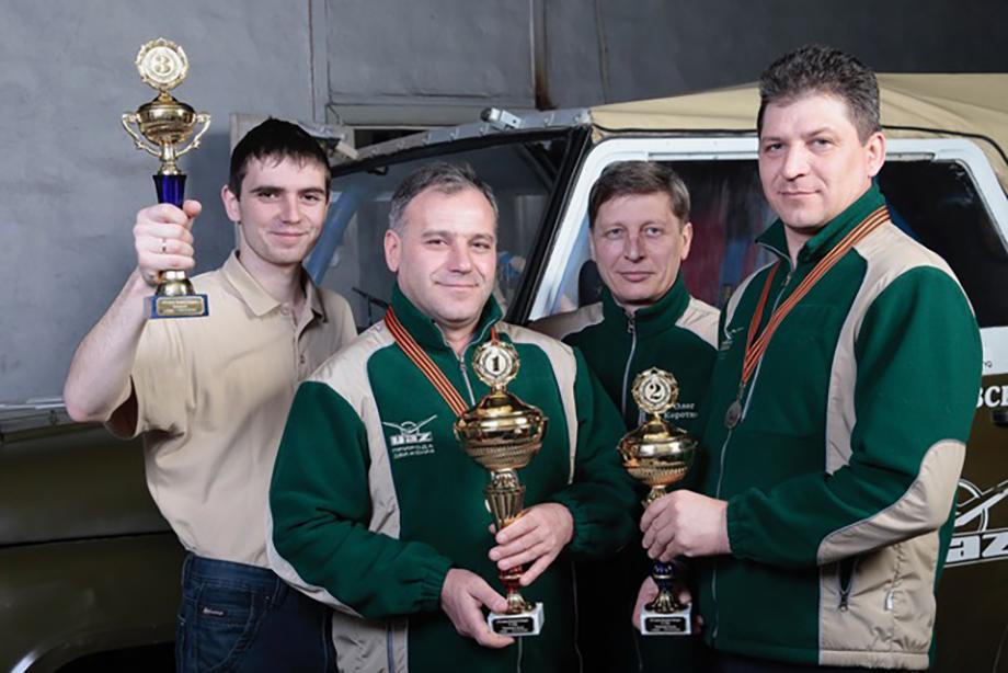 Гоночная команда УАЗ получила заслуженные награды Российской автомобильной федерации