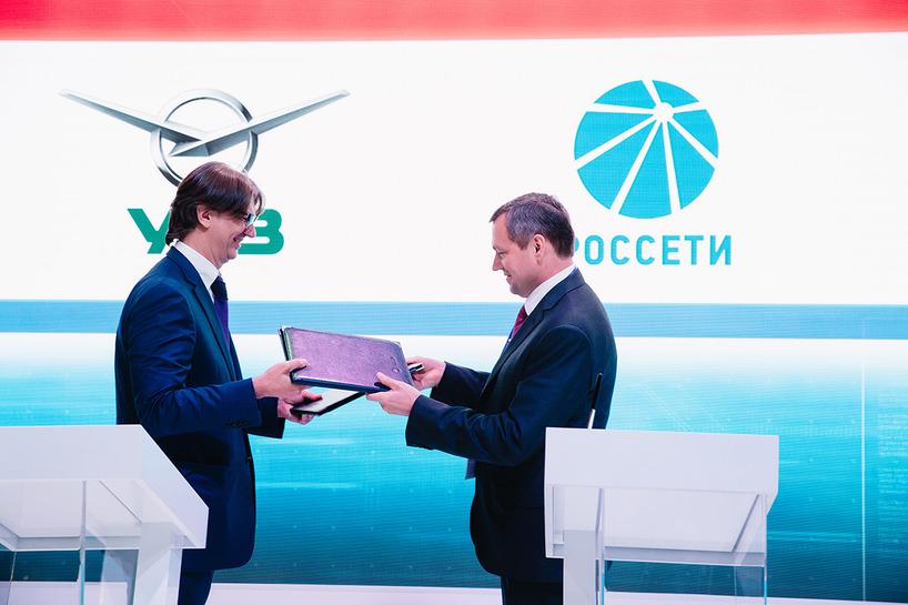 Россети и УАЗ подписали соглашение по реализации основных направлений сотрудничества