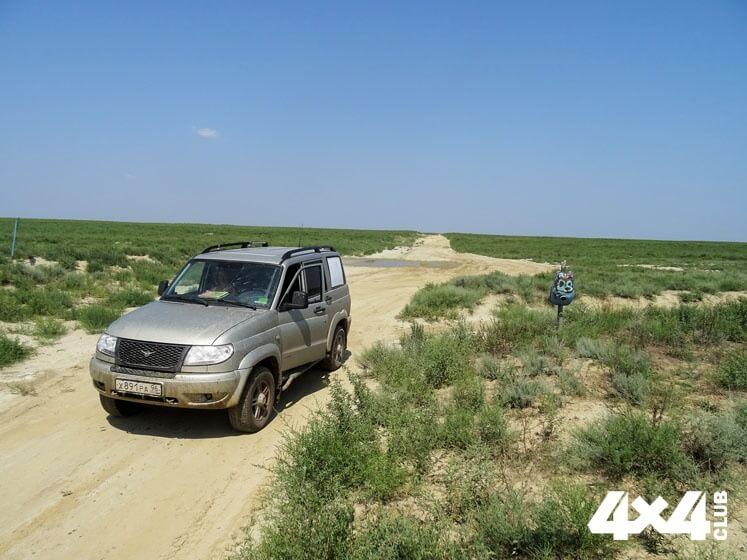 Путешествие УАЗа встрану гор. Часть1