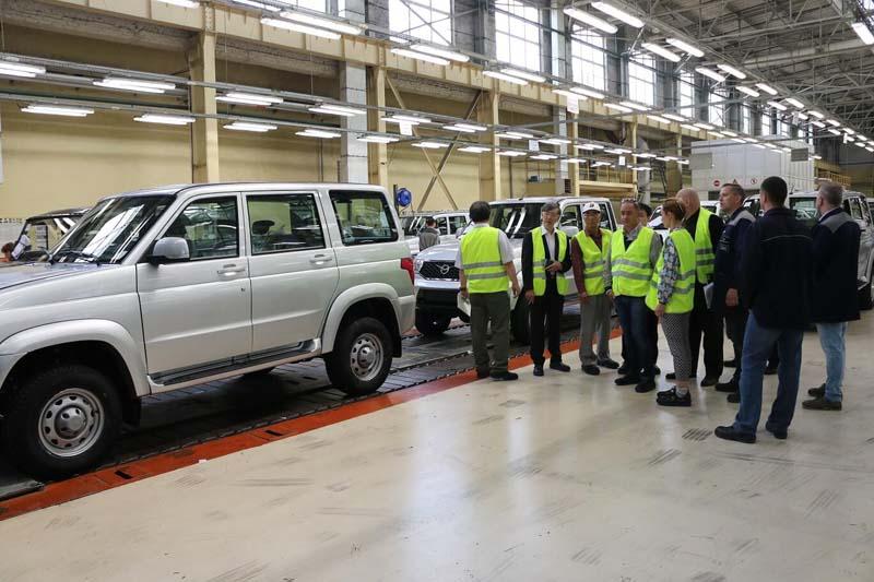 Японские специалисты провели технический аудит производства УАЗ