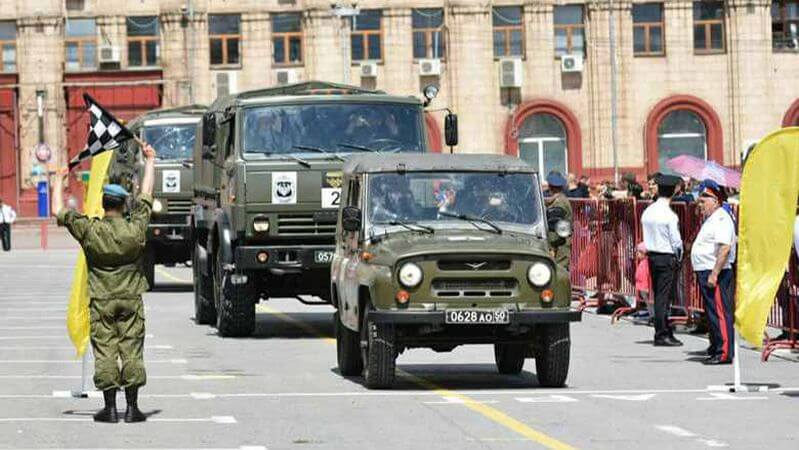 В Волгограде стартует международный этап военного ралли