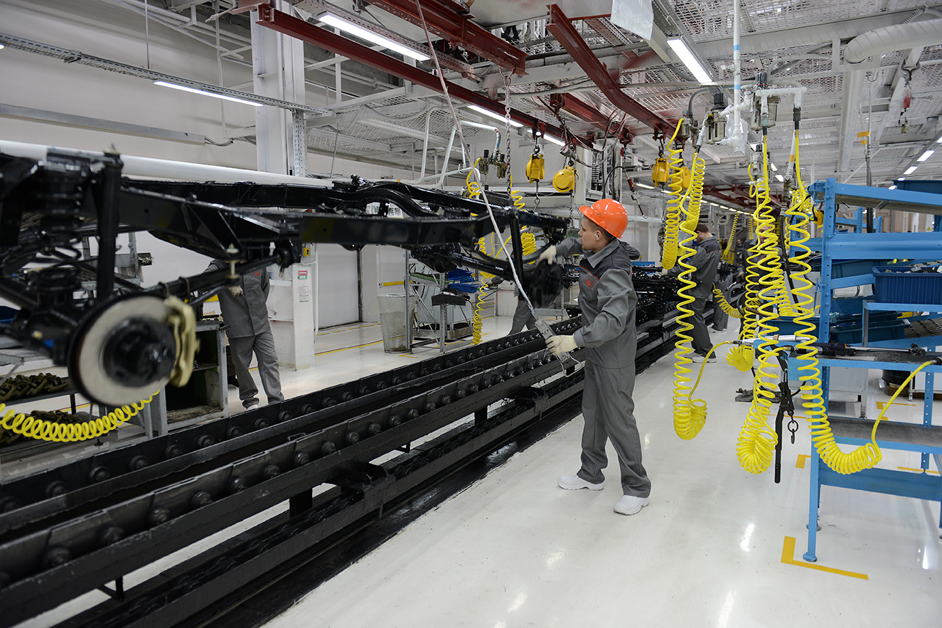 УАЗ модернизировал сборочное производство