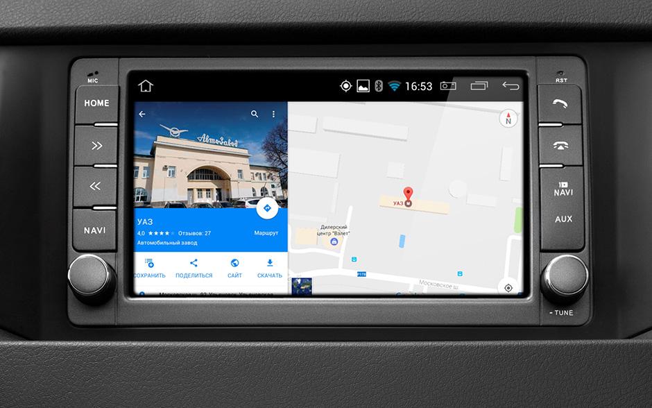 УАЗ Патриот получил новую мультимедийную систему