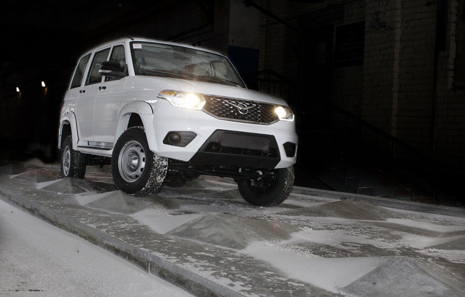 УАЗ запустил новую линию испытательных тестов автомобилей