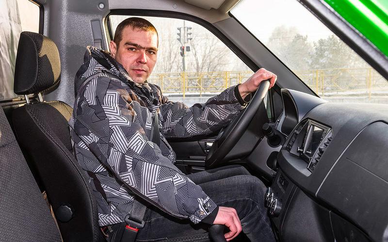 УАЗ Профи — тест-драйв за Уралом
