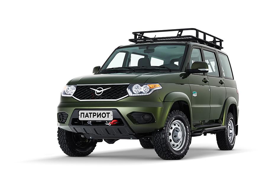 УАЗ Патриот получил новую экспедиционную спецверсию