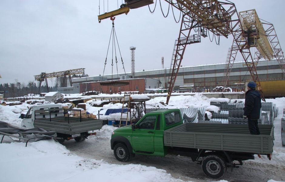 Сравнительный тест заднеприводных УАЗ «Профи» и ГАЗель «Бизнес». Промзона
