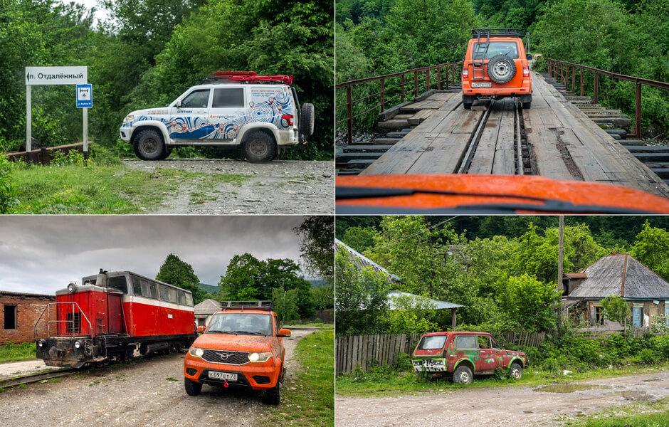 Тест заводской экспедиционной версии УАЗ Patriot на Грачевском перевале