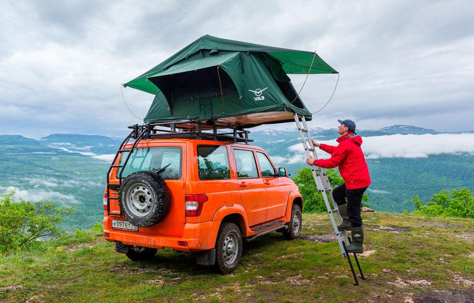 УАЗ с домом на крыше: тест «Патриота» для путешествий