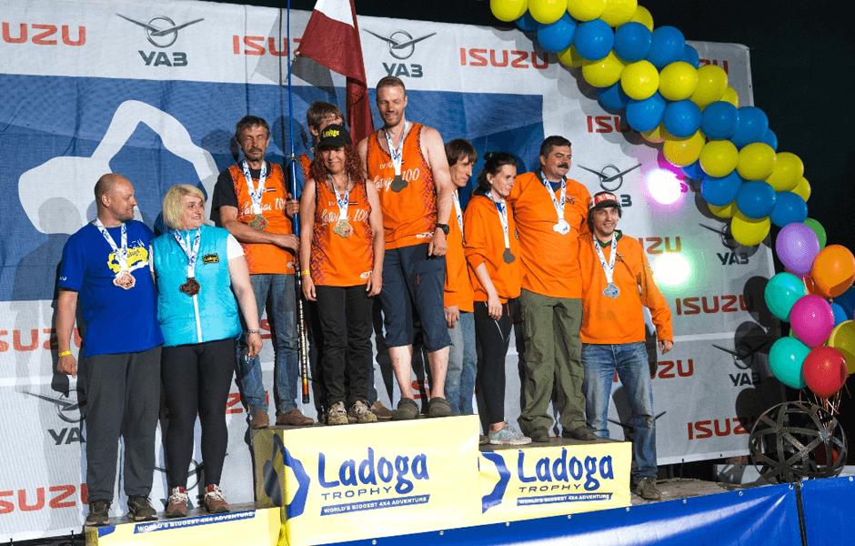 УАЗ вошёл в первую десятку призеров в общем зачёте «Ладога Трофи 2018»