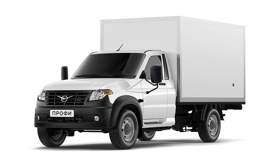 Промтоварный фургон УАЗ Профи поступил в продажу