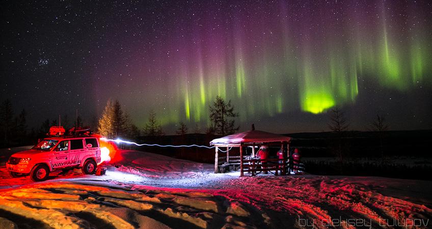 Полярная экспедиция UAZ финишировала в Красноярске