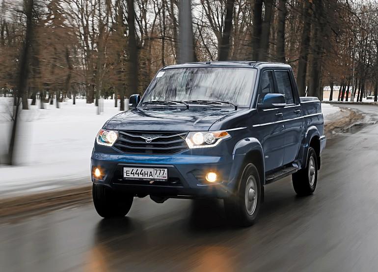 UAZ Pickup Limited: 879 990 руб.