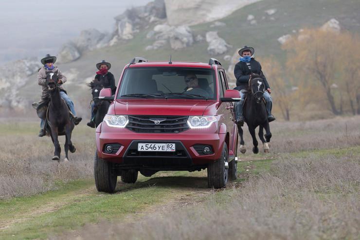 «Патриоты» едут в Крым: тест обновлённого «УАЗа» - Фото 7